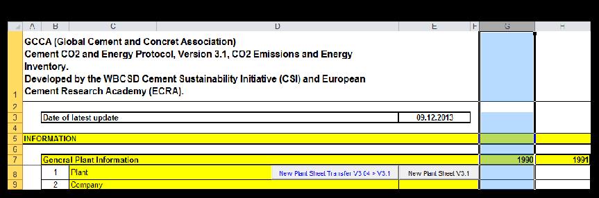 Data transfer from CSI Protocol Spreadsheet V3 04 to V3 1